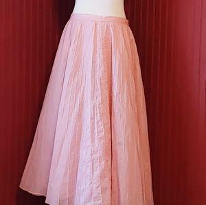 Vintage Ralph Lauren Pink A-Line Skirt 6